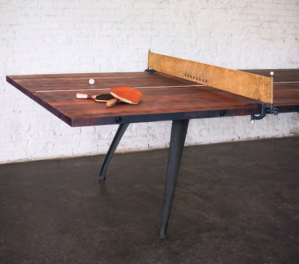 Ping Pong Table Gaming Table Burnt Umber