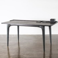 Salk Desk Table Seared