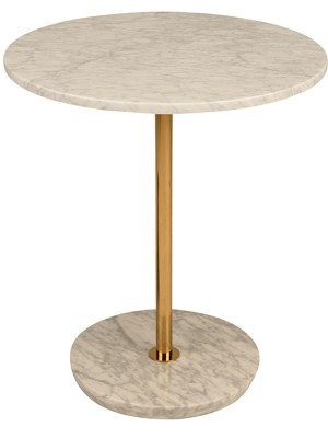 Aida Side Table White