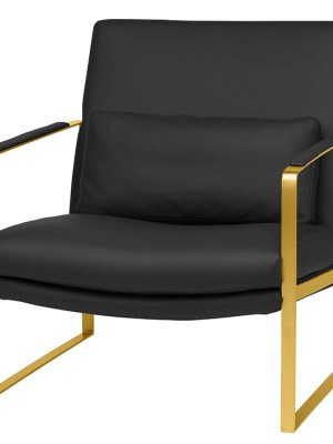 Leonardo Occasional Chair Black