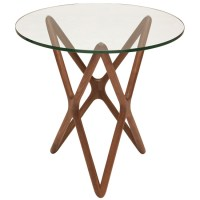 Star Side Table Clear