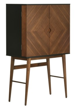 Vivian Bar Cabinet Walnut