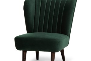 Alicia Occasional Chair Emerald Green