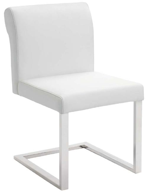 Bruno Dining Chair White