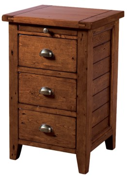 Irish Coast 3 Drawer Nightstand – African Dusk