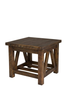 Alfresco Side Table – Smokey Brown