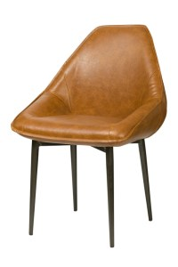 Armando Tub Chair – Tan Brown