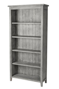 Lifestyle Bookcase – Charcoal Ash