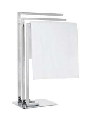 Metro Chrome 3 Tier Towel Stand