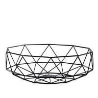 Diamond Deco Metal Bowl – Black