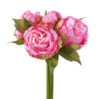 Blushing Peony 5 Bloom Bouquet – Pink