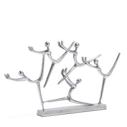 Acrobat Aluminum Decor Sculpture