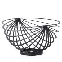 Eclipse Rib Fruit Basket – Black