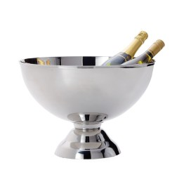 Landon Stainless Steel Punch Bowl Wine Chiller – Large