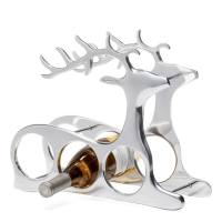 Reindeer Aluminum 3 Bottle Wine Rack