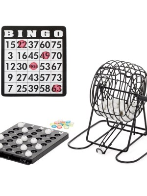 Retro Bingo Game Set