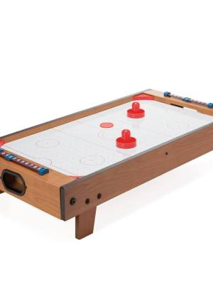 Retro Deluxe Tabletop Air Hockey Game