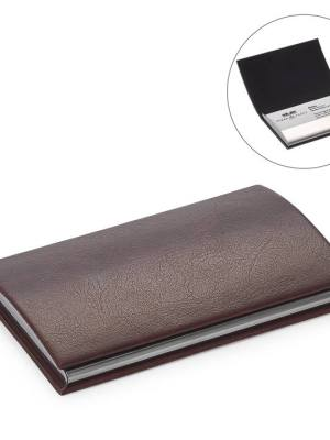 Executive Slim Business Card Holder – Brown