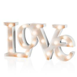 Marquee LED Lighted Metal Sign – Love