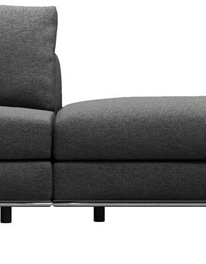 Perry 1 Arm Corner Sofa w 2 Ottomans