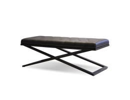 Axel Bench Polished Stainless Steel