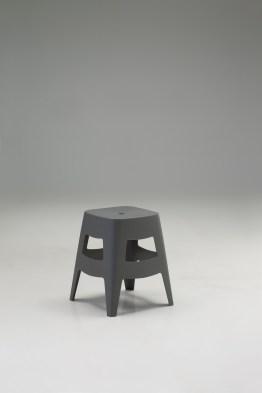 Otis Stool Grey Polypropylene Set of 4