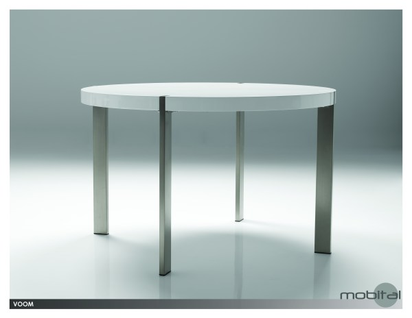 Tulum Dining Table Grey Epoxy with Black Powder Coated Steel