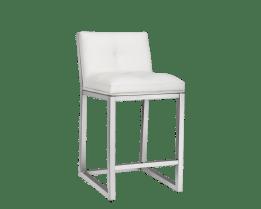 ALBA COUNTER STOOL – WHITE