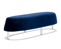 CAVO BENCH – GIOTTO NAVY FABRIC