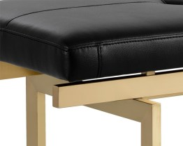 KEITH BENCH – CHAMPAGNE GOLD – BLACK
