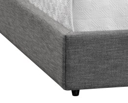 EMMIT BED – QUEEN – QUARRY FABRIC
