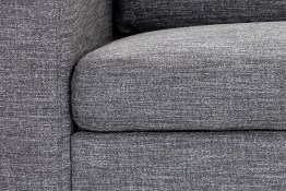 ETHAN SOFA CHAISE – QUARRY FABRIC – LAF