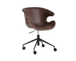 KASH OFFICE CHAIR  – HEARTHSTONE BROWN