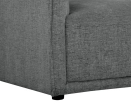 HEMSWORTH SECTIONAL – CHARLESTON DARK GREY FABRIC