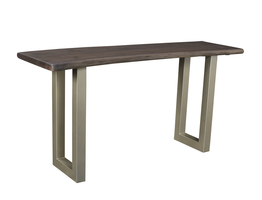 TAJ Console Table – Vinegar Matte U- Tube Metal