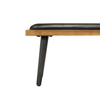 Apollo Dining Bench – Upholstered Cushion