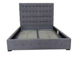 Baron Queen Bed – Grey