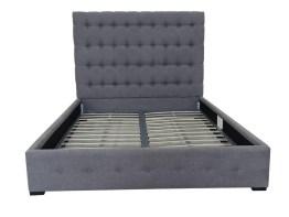Baron King Bed – Grey