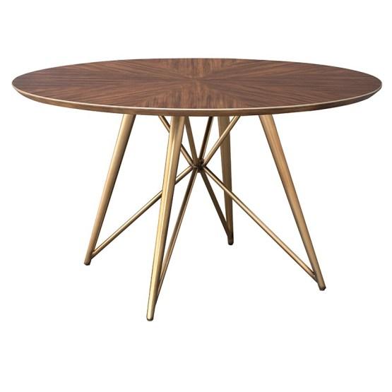 KONRAD DINING TABLE CAROB