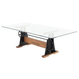 LE LOI DINING TABLE CLEAR