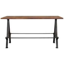 KOSEN DINING TABLE BURNT UMBER