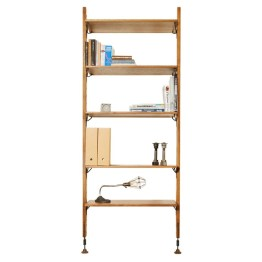 THEO WALL UNIT WITH SMALL SHELVES HARD FUMED