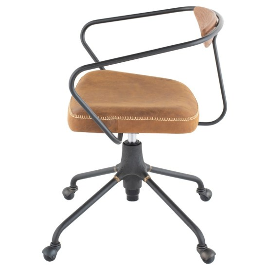 AKRON OFFICE CHAIR UMBER TAN