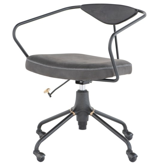 AKRON OFFICE CHAIR STORM BLACK