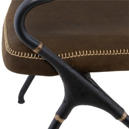 AKRON DINING CHAIR JIN GREEN