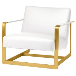 SUZA OCCASIONAL CHAIR WHITE