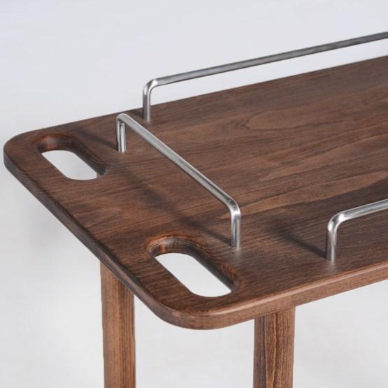 DANIELLE BAR TABLE WALNUT