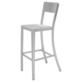 TRIBECCA COUNTER STOOL SILVER