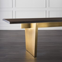 AIDEN DINING TABLE SEARED