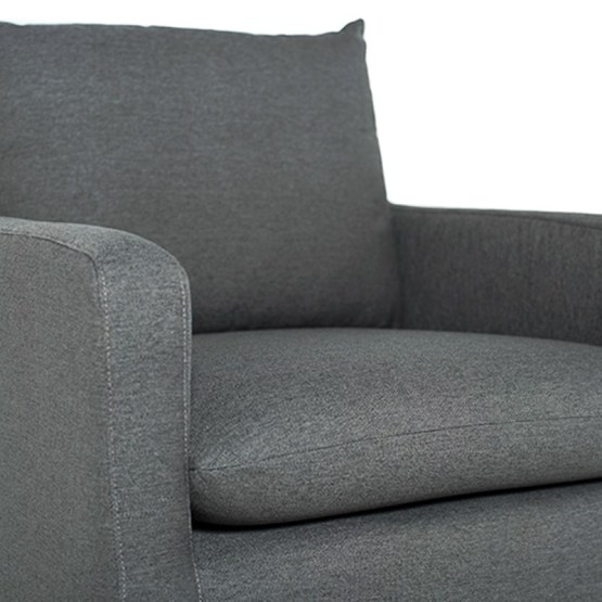 ANDERS OCCASIONAL CHAIR SLATE GREY